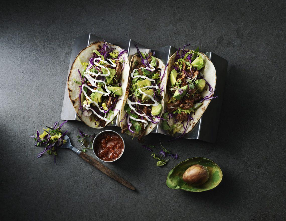 taco's met rundvlees