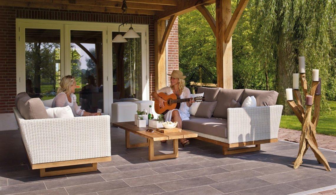 Zo kiest u een loungeset voor in de tuin