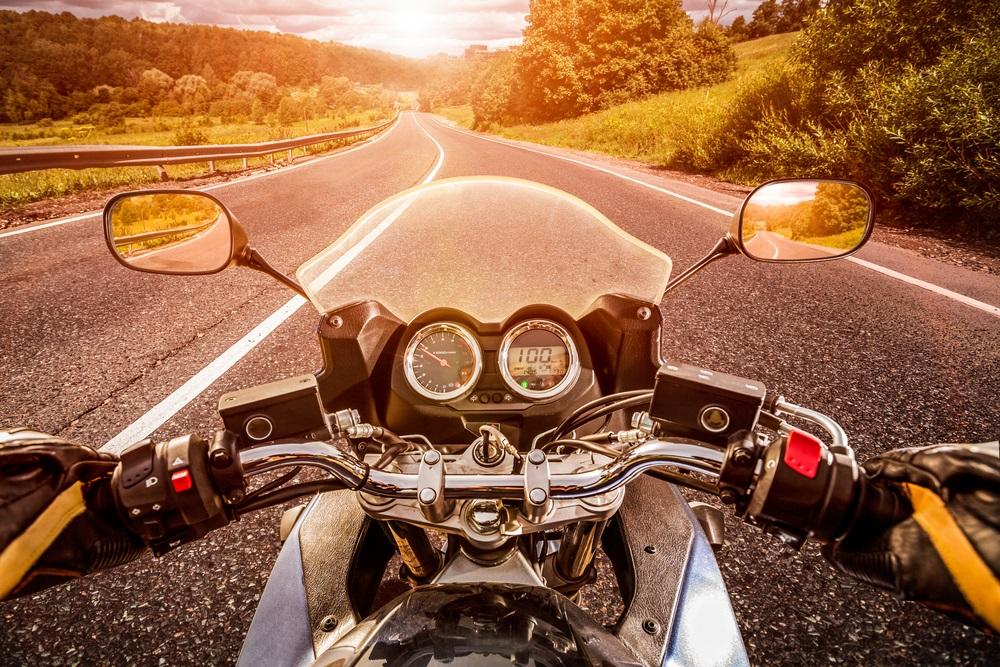 Met pensioen Start met motorrijden