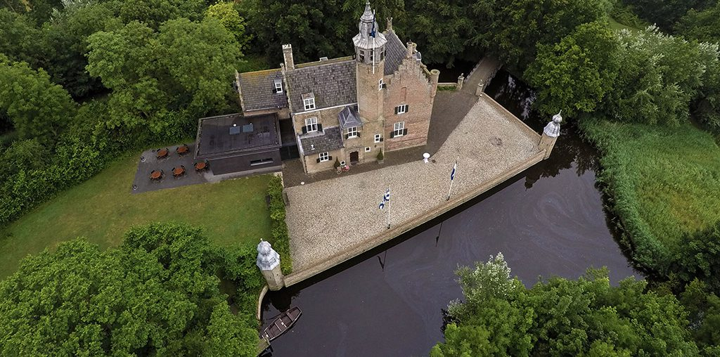 Oud en Nieuw in een kasteel