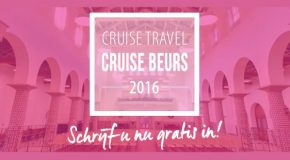 Gratis cruisebeurs in Amersfoort – 5 en 6 november 2016